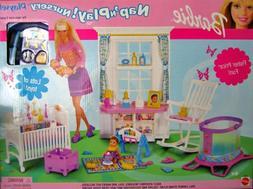 Barbie Krissy Nap 'n Play Nursery Playset