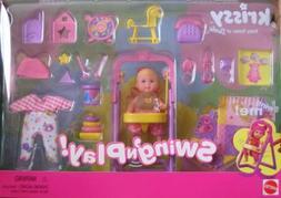Barbie KRISSY Swing 'n Play! Set w Working Swing!