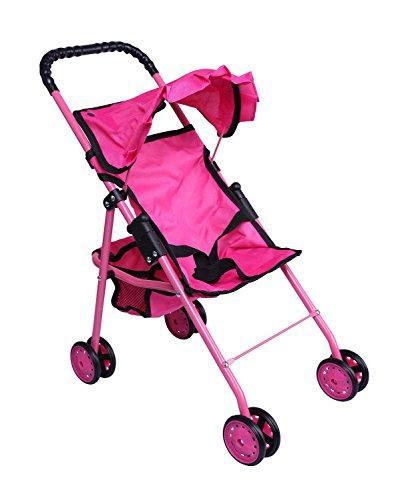 0126a pink doll stroller
