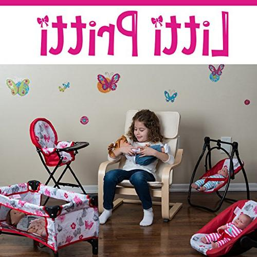 Litti 4 Set - Baby Doll Swing, Chair, Play, Baby – Accessories for Old Up