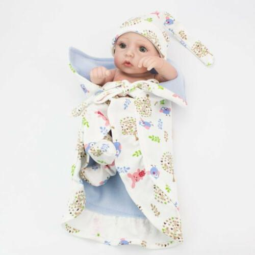"10"" Silicone Baby Newborn Gift"