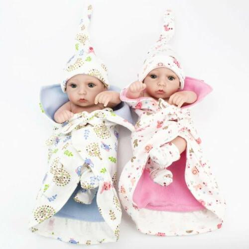 """10"""" Full Body Silicone Baby Toys Gift"""