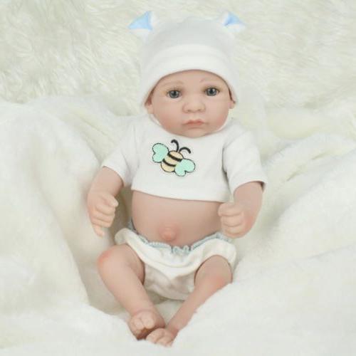 10'' Handmade Lifelike Correct Silicone Boy Doll
