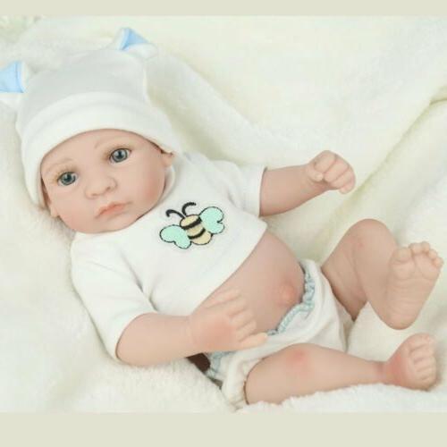 10'' Lifelike Anatomically Silicone Boy Doll