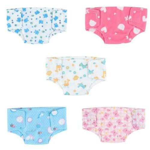 SOTOGO 10 Pack Doll Diapers 18''