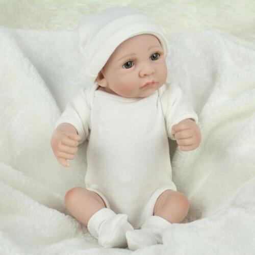 "10"" Full Boy Girl Doll Reborn"