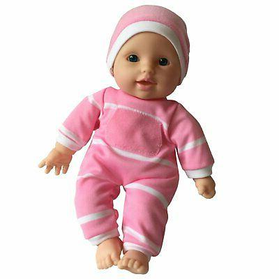 "11 Soft Body Doll Box 11"" Baby Doll Caucasian Gift For Kids"