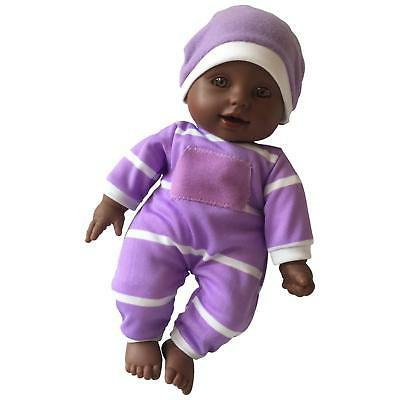 """11 inch Soft Body Doll in Gift Box - 11"""" Baby Doll African A"""