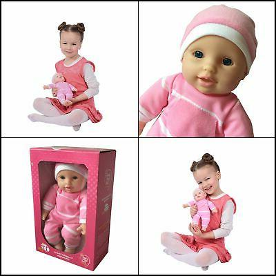 "11 inch Body Doll 11"" Baby Doll Caucasian Gift For"