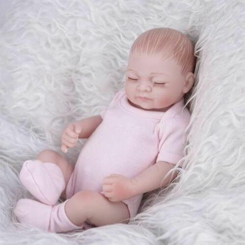 11'' Lifelike Newborn Babies Reborn Baby Dolls Silicone Hand