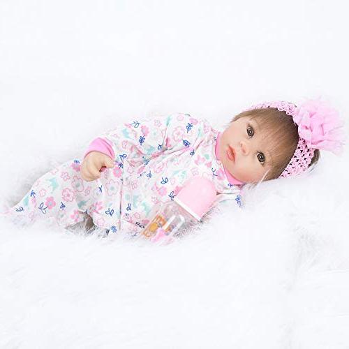 Birdfly Reborn Toddler Smile Baby Doll Sit Artificial Rib Girl Lifelike