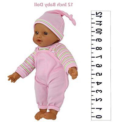 "The Collection 12"" Sweet Hispanic Twin Baby Dolls -"