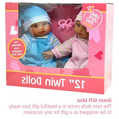 """The New York Collection 12"""" Twin Play Dolls -"""