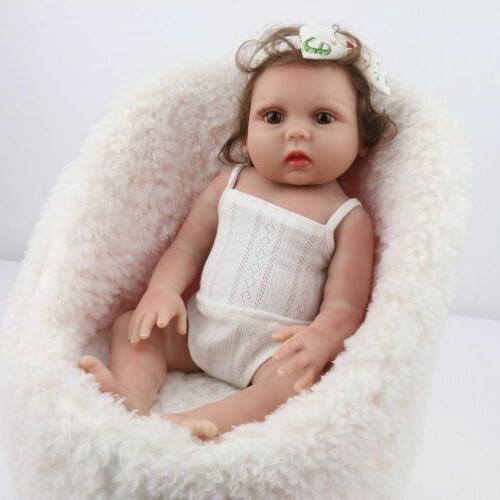Reborn Dolls Full Body Silicone Vinyl Handmade Newborn