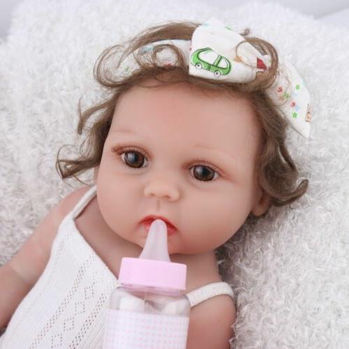 Reborn Dolls Full Body Silicone Vinyl Handmade Newborn Gifts Doll