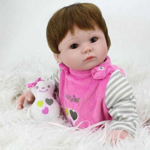 16'' Baby Handmade Vinyl Belly Doll