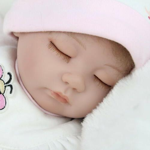 "16"" Reborn Baby Dolls Handmade Silicone"