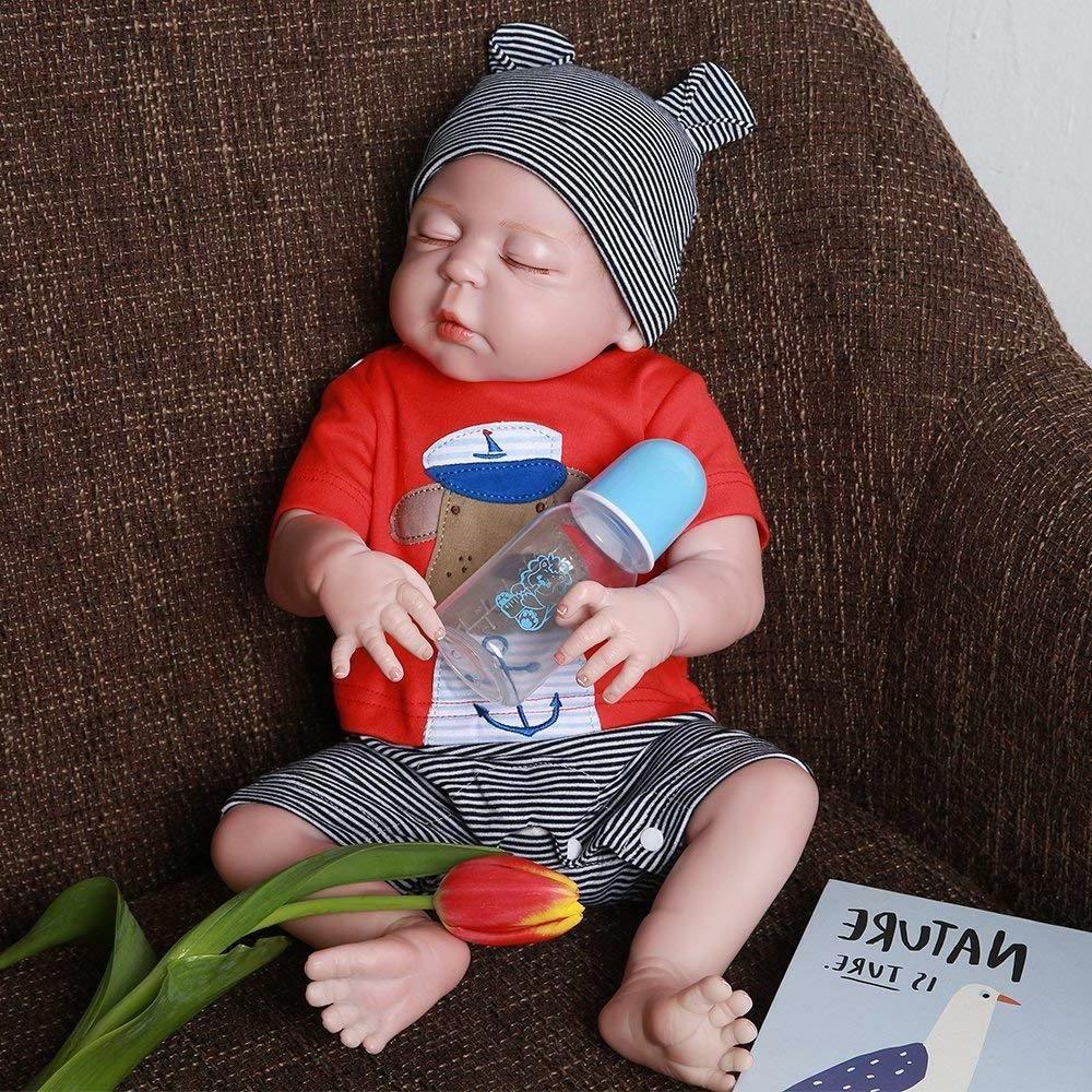 """22"""" Baby Dolls Full Boy Real Newborn"""