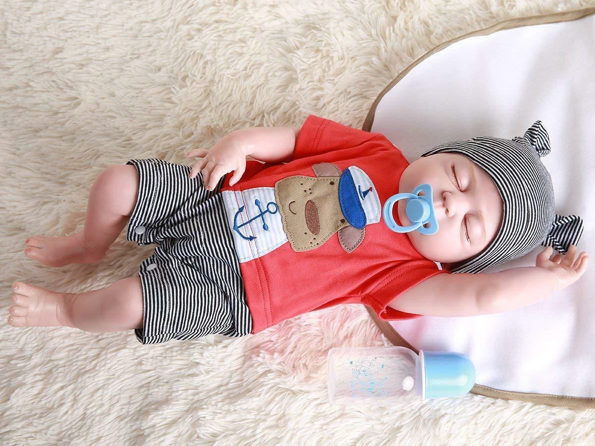 """22"""" Boy Doll Lifelike Newborn"""