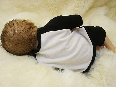 "18"" Handmade Reborn Baby Doll Soft Vinyl Boy"