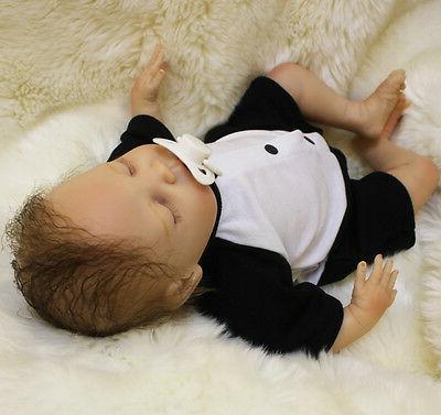 """18"""" Reborn Doll Newborn Dolls Soft Silicone"""