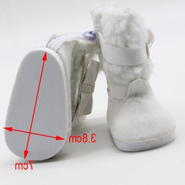 18 Snow Boots 43cm <font><b>baby</b></font> <font><b>baby</b></font> shoes