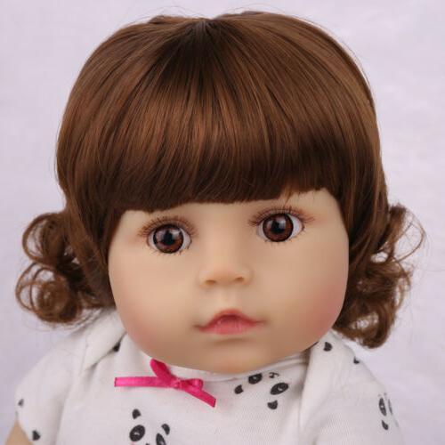 "18""Realistic Baby Doll Newborn Full Silicone"