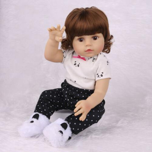 "18""Realistic Doll Newborn Full Vinyl Silicone"