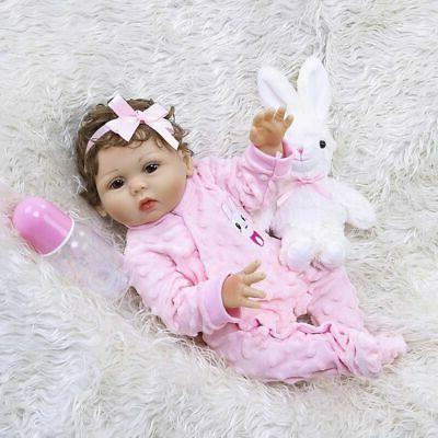 Waterproof Reborn Baby Dolls Full Silicone Doll