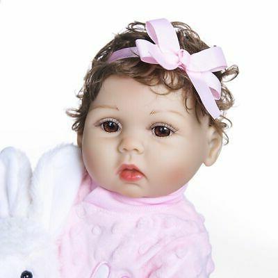 Dolls Silicone Vinyl Newborn Doll