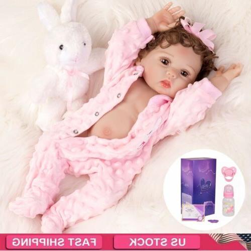 waterproof 18 reborn baby dolls full body