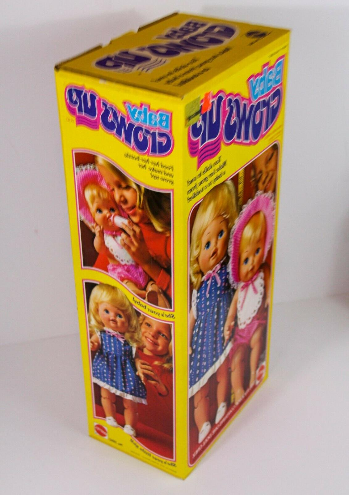 1978 DOLL BABY OLD STOCK VINTAGE 1970'S