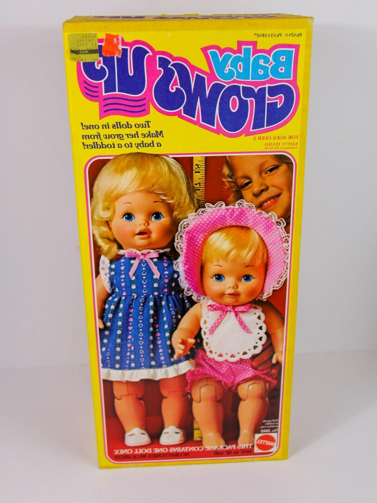 1978 doll baby grows up doll new