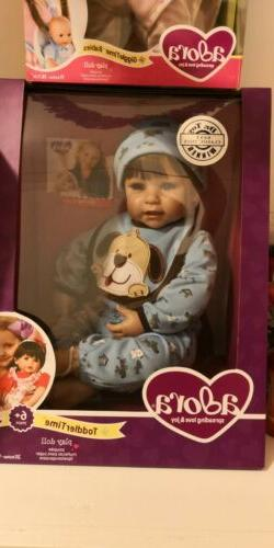 NIB Woof!Boy Adora 20 Inches Toddler Doll in original manufa