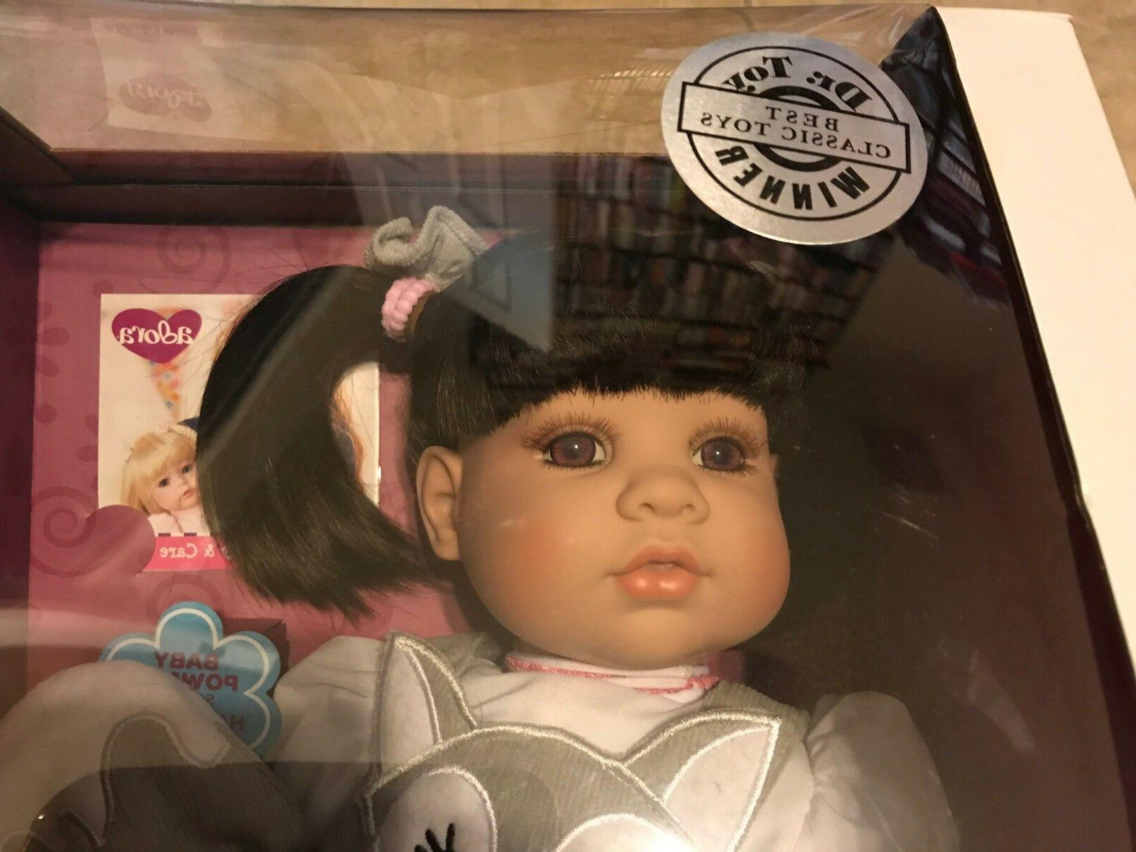 Adora Toddler Baby Hair Brown White