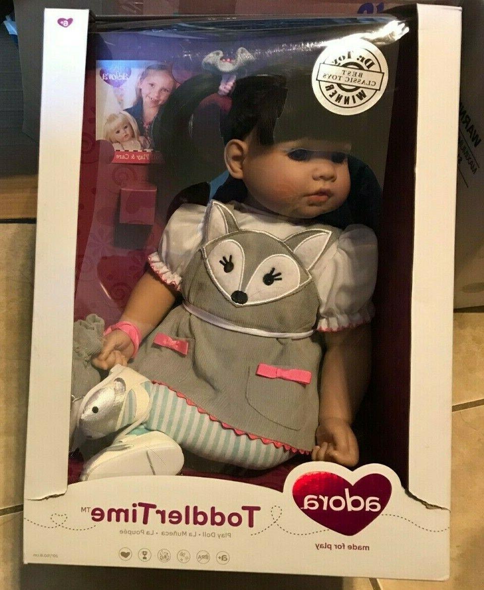 20 toddler time baby doll black hair