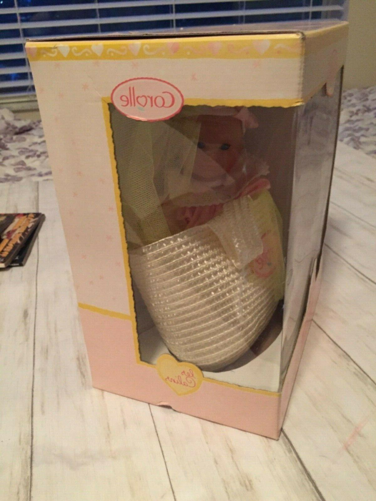 2000 Corolle Les Baby Girl Doll IN Made in France