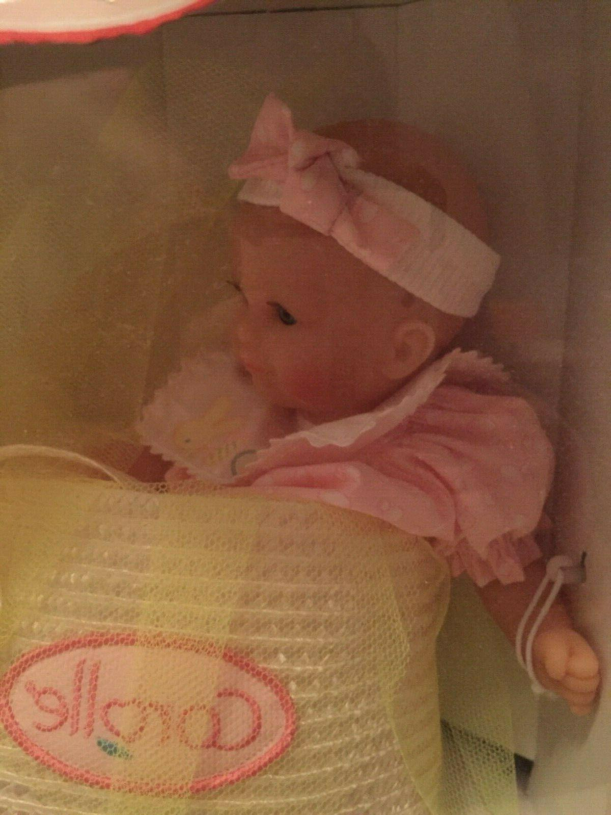 2000 Corolle Baby Tendre Doll NEW Made France
