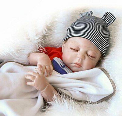 """22""""Full Silicone Realistic Reborn boy Newborn Doll"""