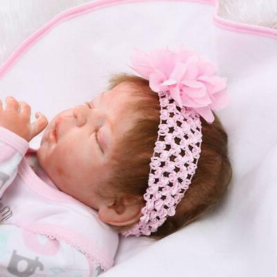 22inch Reborn Baby Realistic Cute Doll Lifelike Girl