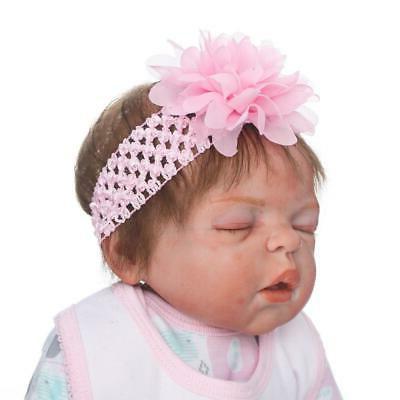 22inch Reborn Realistic Cute Newborn Doll Lifelike Pink Toddler