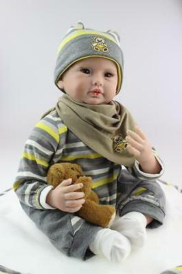 "22"" Handmade Dolls Boy + Pacifier"
