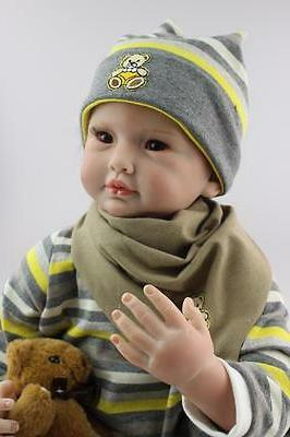"22"" Handmade Lifelike Dolls Boy"