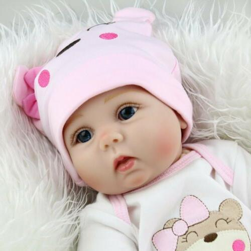 22'' Realistic Vinyl Girl Doll Gifts