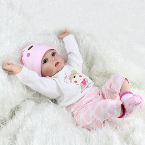 22'' Lifelike Newborn Silicone Reborn Baby Dolls