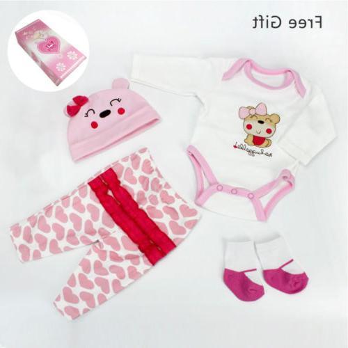 22'' Newborn Silicone Reborn Baby Dolls Gift