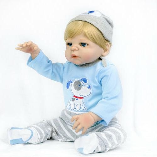 22 Vinyl Reborn Baby Doll Realistic Newborn Gift