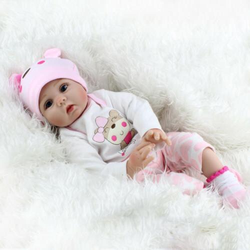 22'' Lifelike Babies Silicone Vinyl Dolls