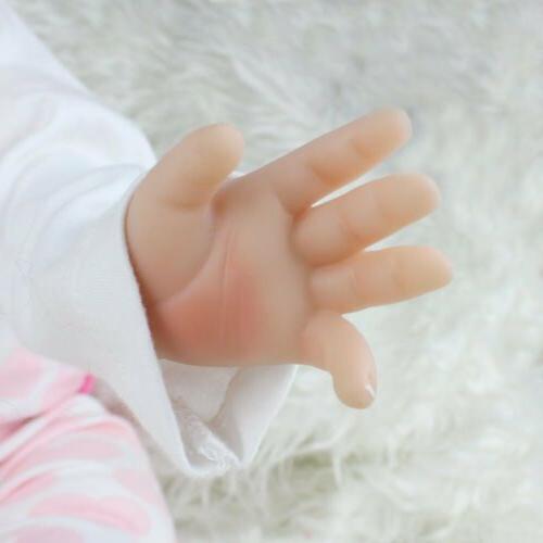 22'' Reborn Baby Realistic Vinyl Girl Handmade Gifts