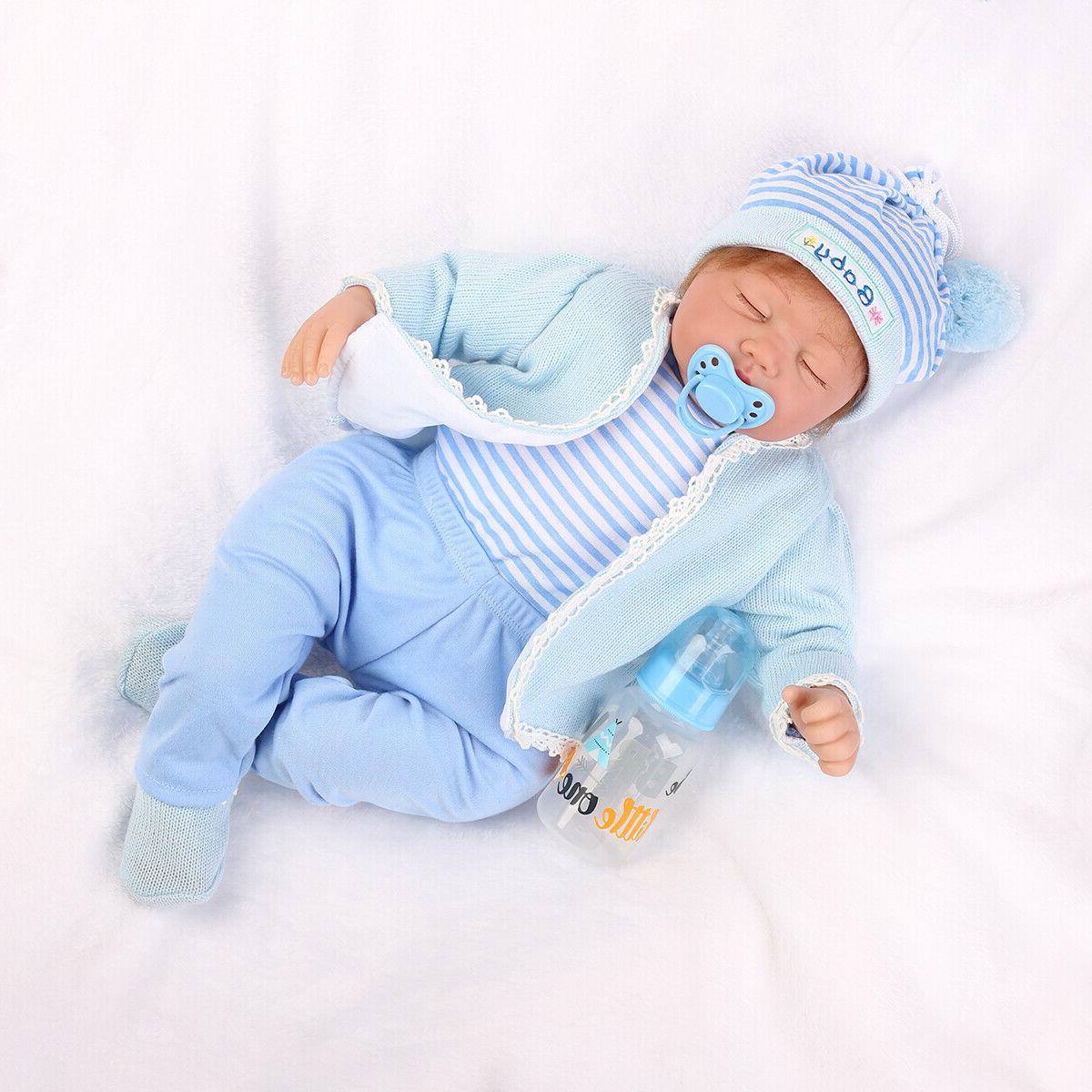 22 lifelike newborn silicone vinyl reborn gift